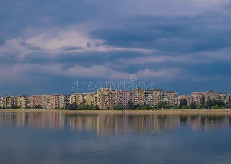 从布加勒斯特,罗马尼亚的邻里 图库摄影