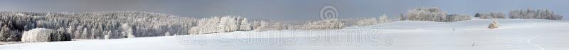 从捷克人和Moravian高地的冷漠的看法 库存图片
