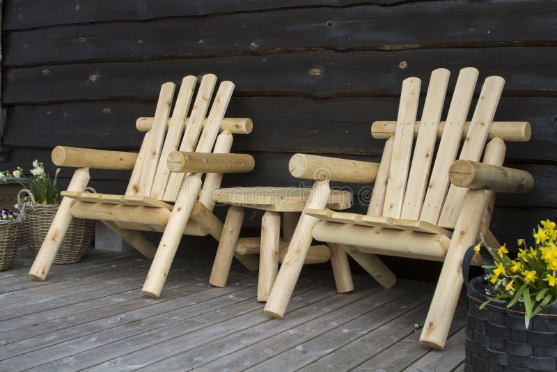 从斯堪的那维亚的家具 库存图片