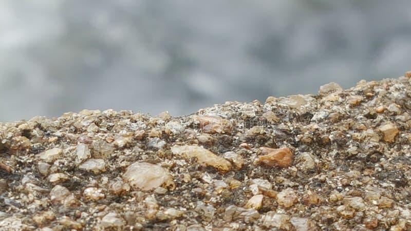 从斯里兰卡的山峰的吻合风景 库存图片