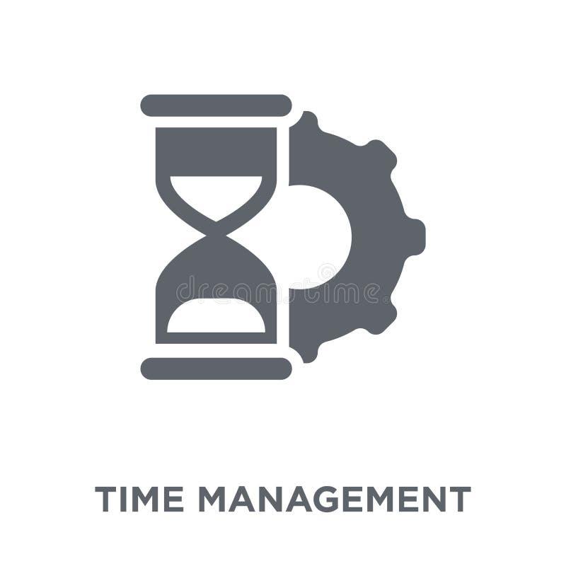 从时间managemnet汇集的时间管理象 向量例证