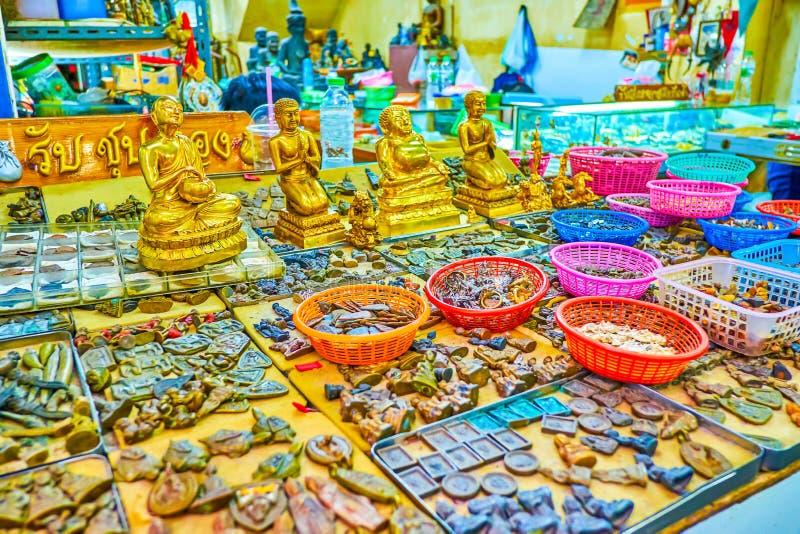 从曼谷,泰国的纪念品 免版税库存图片