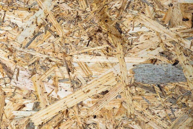 从木头和堆的木粗纸板 免版税图库摄影