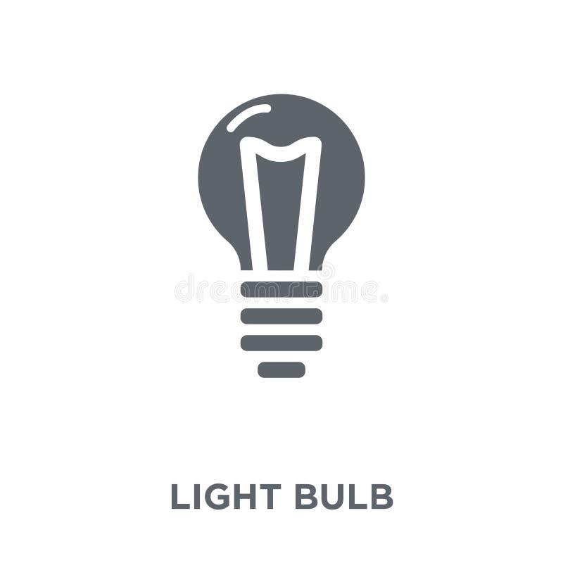 从汇集的电灯泡象 库存例证