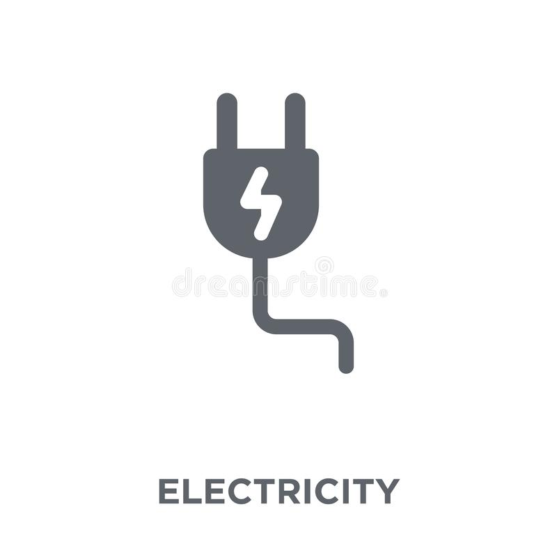 从汇集的电象 向量例证