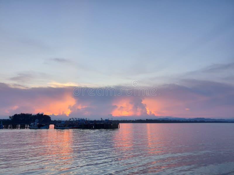 从泰国的海scap 免版税库存照片