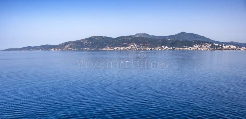 从海的Gibralter 免版税库存图片