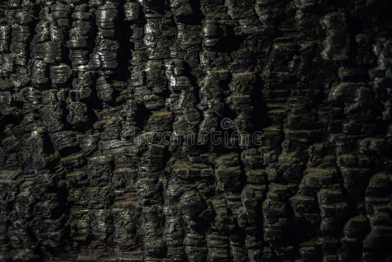 从火的被烧的墙壁 免版税库存图片