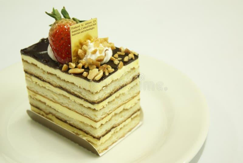 从爱的蛋糕 免版税库存图片