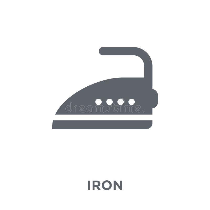 从电子设备汇集的铁象 库存例证