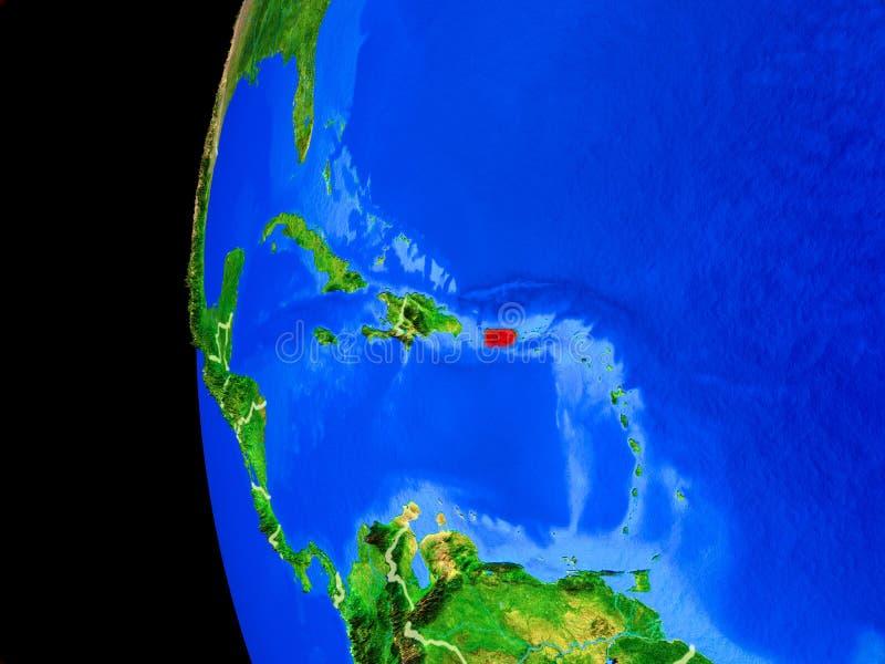 从空间的波多黎各 向量例证