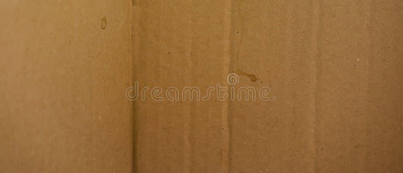 从纸板的长的背景是接近的 库存照片