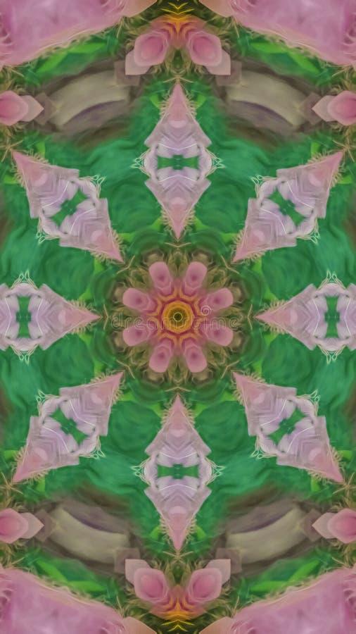 从羽毛创造的垂直的星形状在样式 免版税库存图片
