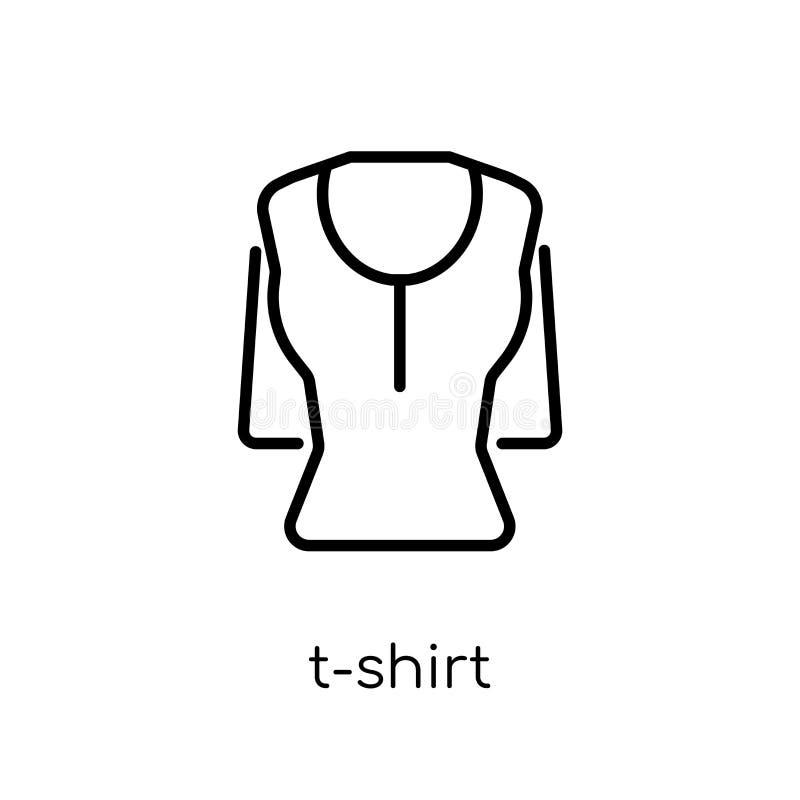 从衣裳汇集的T恤杉象 库存例证
