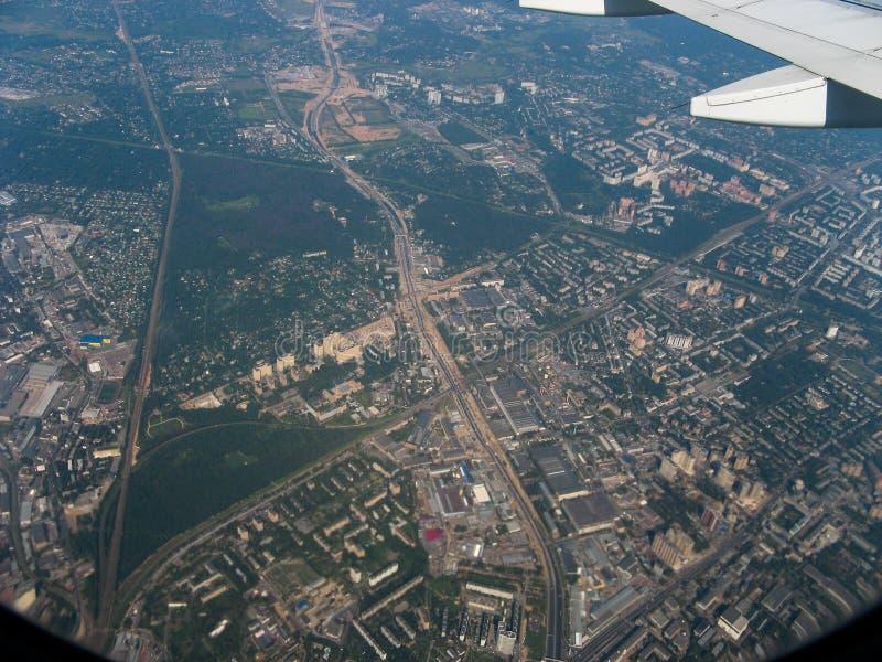 从车里雅宾斯克向莫斯科 免版税库存图片