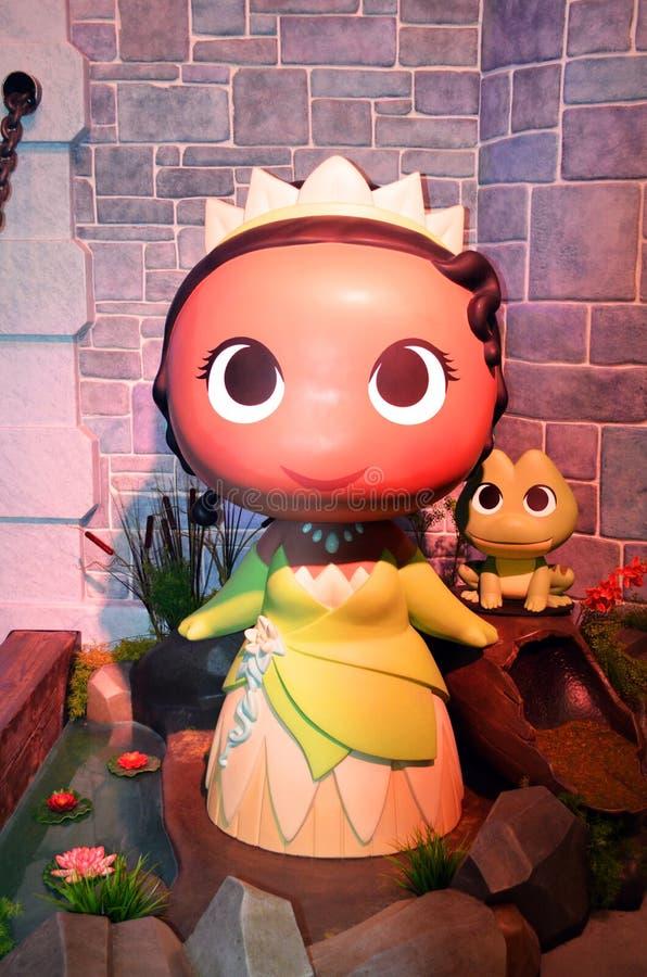 从迪斯尼的Funko蒂亚纳公主 库存照片