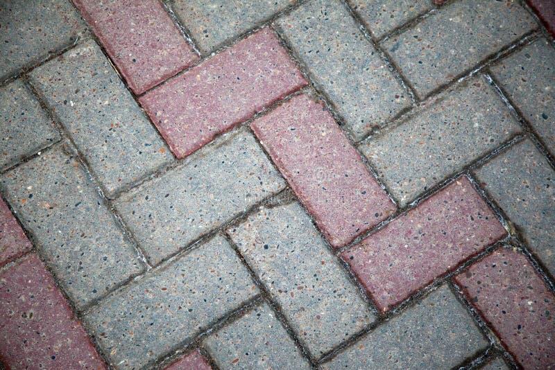 铺路板在城市 库存图片