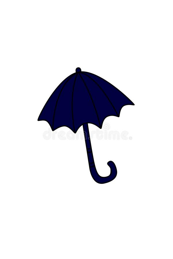 从风暴伞的风雨棚 免版税库存照片