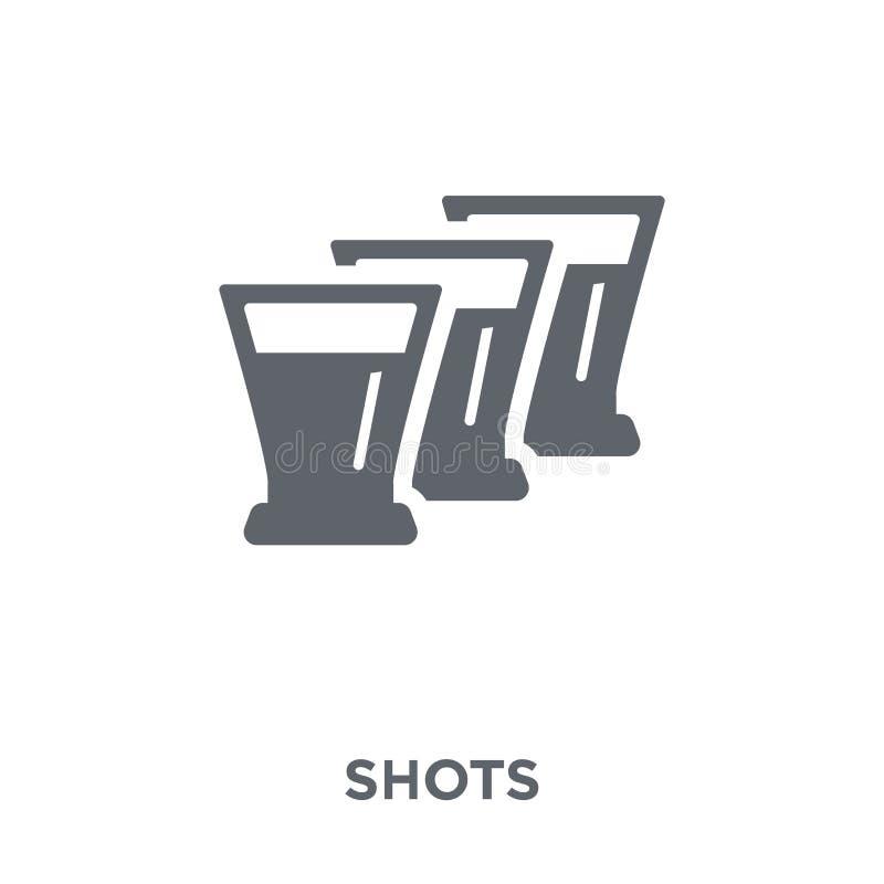 从饮料汇集的射击象 皇族释放例证