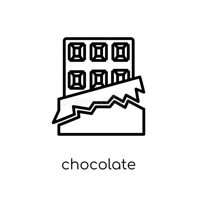 从饮料汇集的巧克力象 皇族释放例证