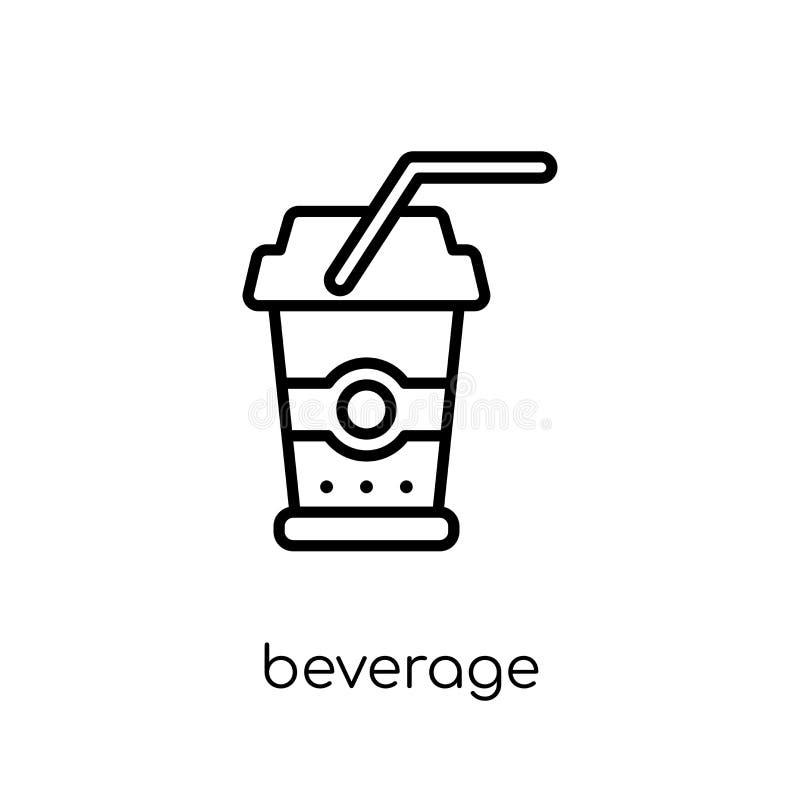 从饮料汇集的饮料象 向量例证