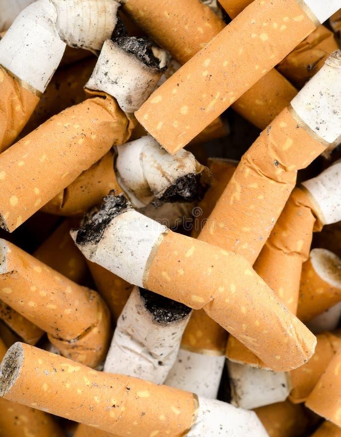 从香烟的背景 免版税库存图片
