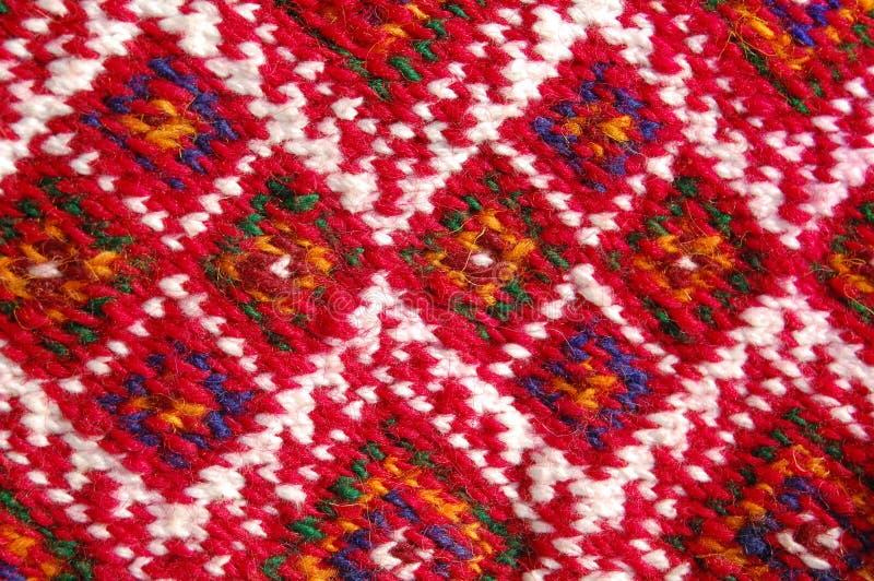 从马其顿的地毯模式 库存照片