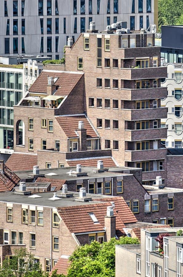 从20世纪80年代的住房 免版税库存照片