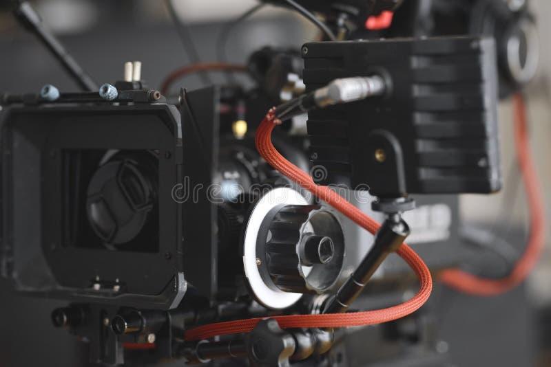 从5k戏院生产照相机和设定的细节 图库摄影