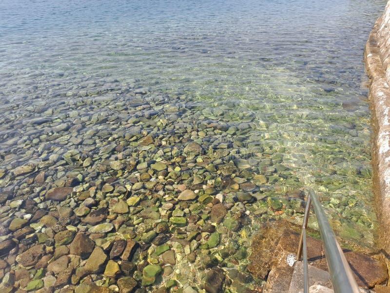 从Coratia的海洋 免版税库存图片