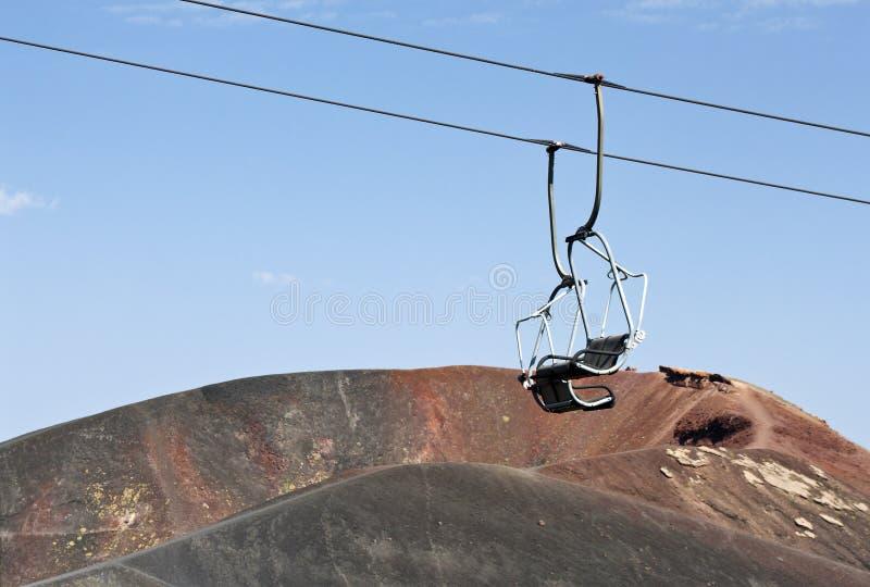 从Etna的问候 免版税库存照片