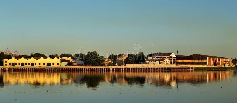 从la Boca Caminito的看法 免版税图库摄影