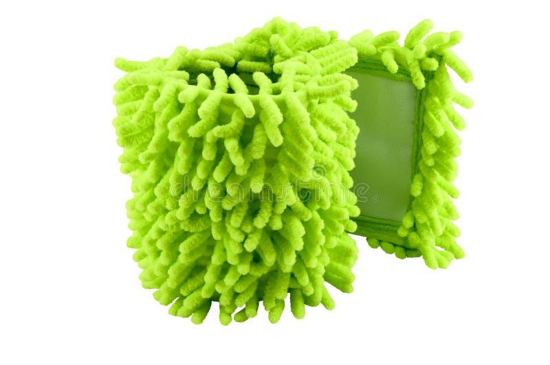 从microfiber的餐巾拖把的 库存图片