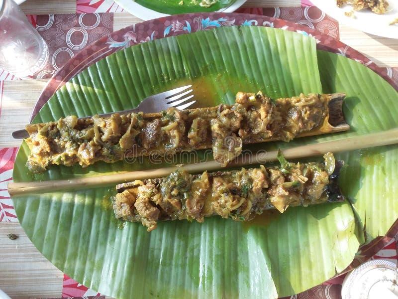 从ranganati孟加拉国的竹鸡 免版税库存图片