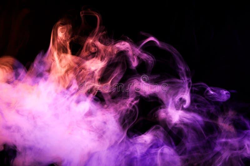 从vape烟的背景  免版税图库摄影