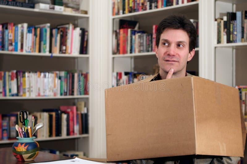仔细考虑的配件箱 库存图片