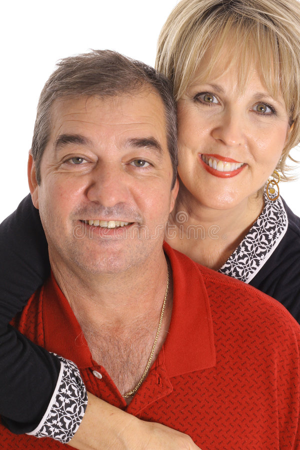 他们50对的夫妇愉快的s 免版税库存照片