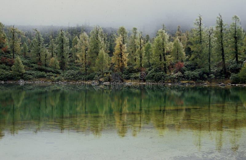 仙境湖 免版税库存图片