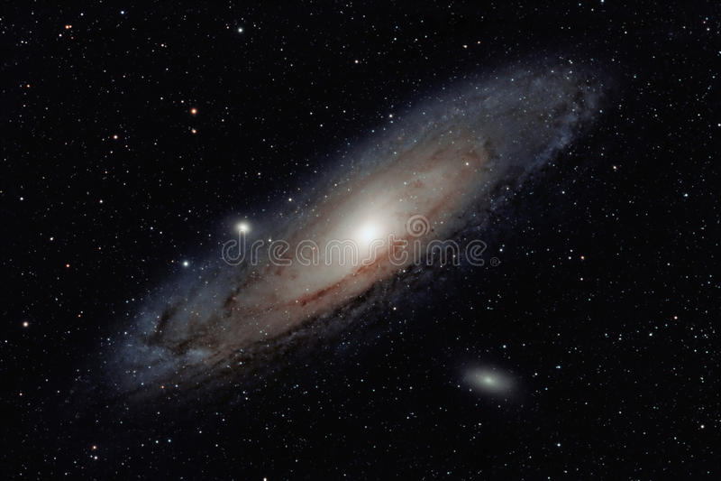 仙女座星系 库存照片