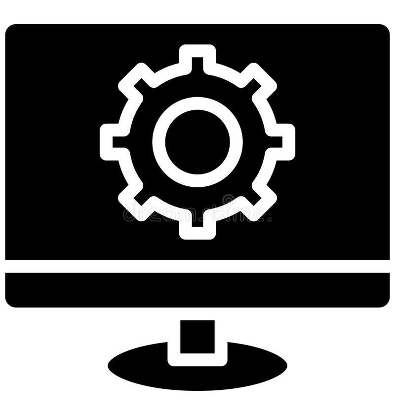 代码质量,可以非常容易地是编辑或修改的网发展被隔绝的传染媒介象 代码质量,网发展伊索拉 向量例证