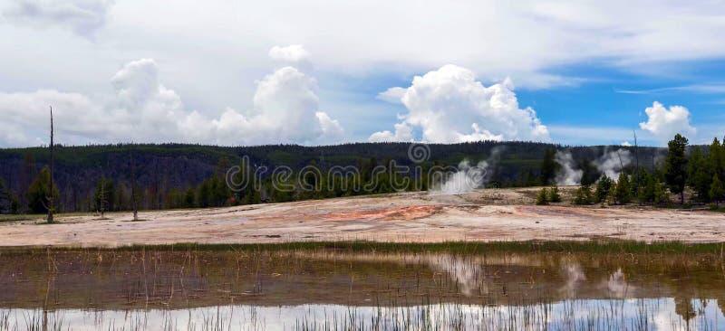 令人惊讶的山在大蒂顿国家公园 免版税库存照片