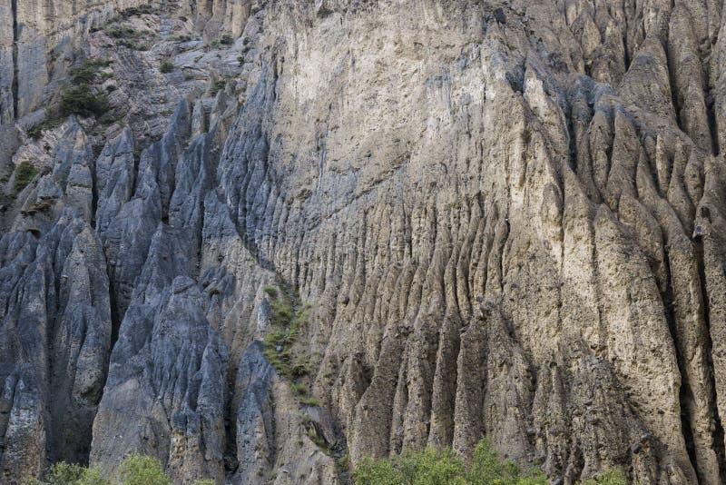 令人惊讶的岩石-聚结 库存照片