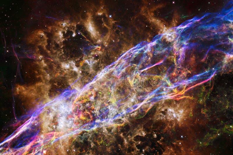 令人敬畏外层空间 数十亿在宇宙的星系 免版税库存照片