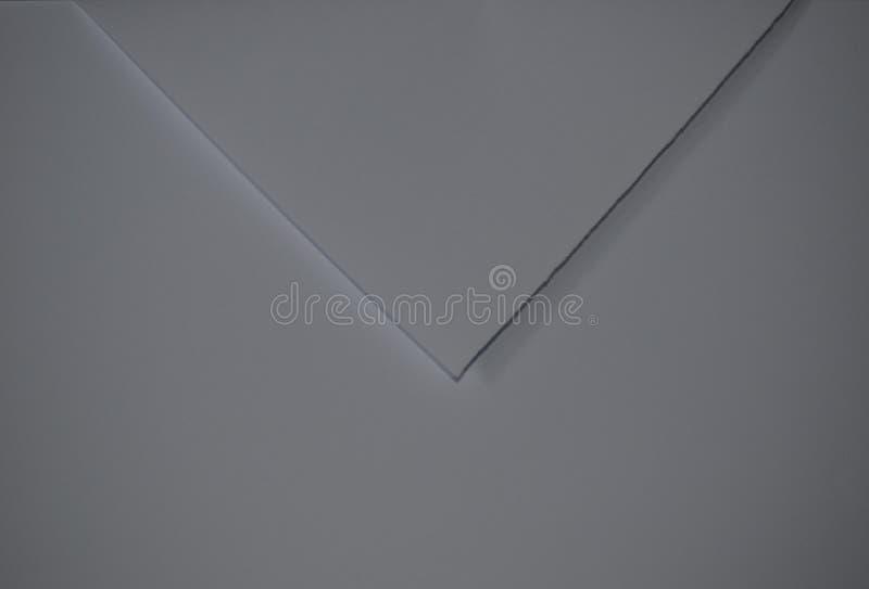 以信封的形式纸 免版税库存图片
