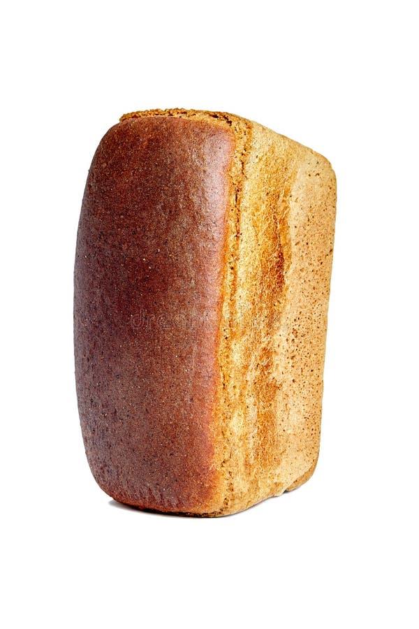 以砖的形式,布朗酿造了面包 库存图片