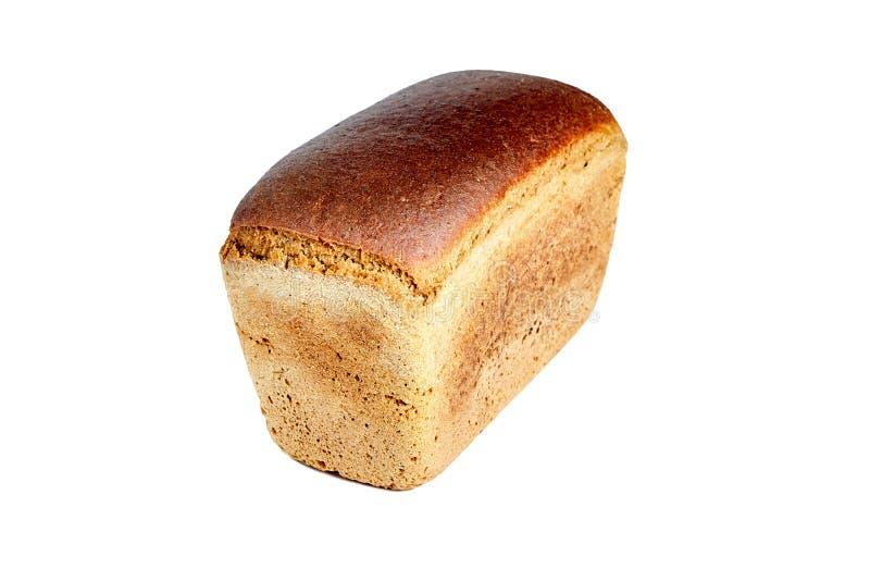 以砖的形式,布朗酿造了面包 免版税图库摄影