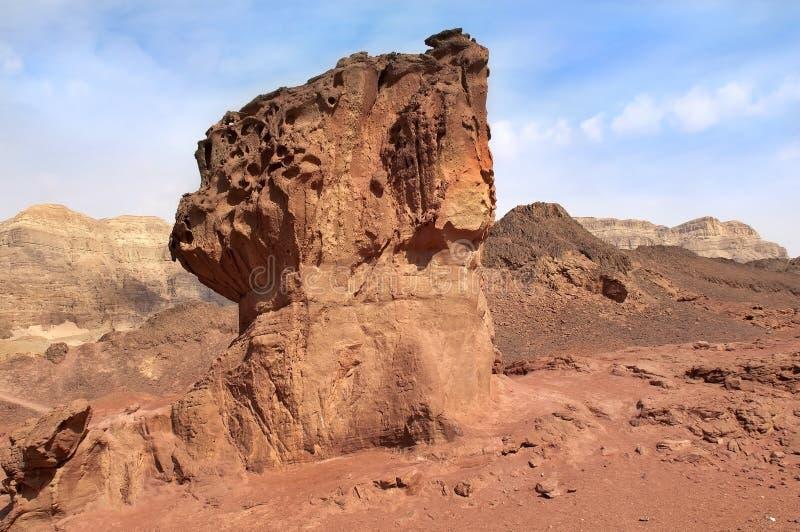 以色列公园timna 库存图片