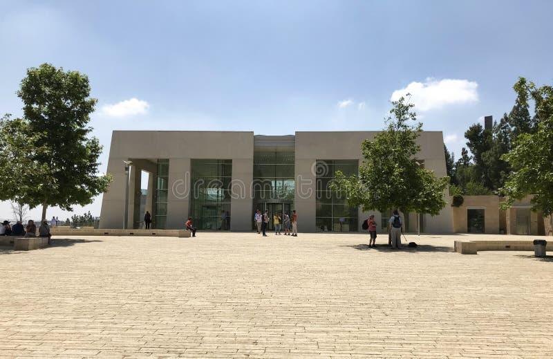 以色列犹太大屠杀纪念馆-世界浩劫记忆中心 免版税图库摄影