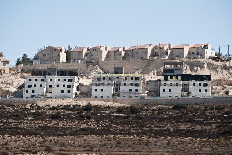 以色列结算 免版税库存照片