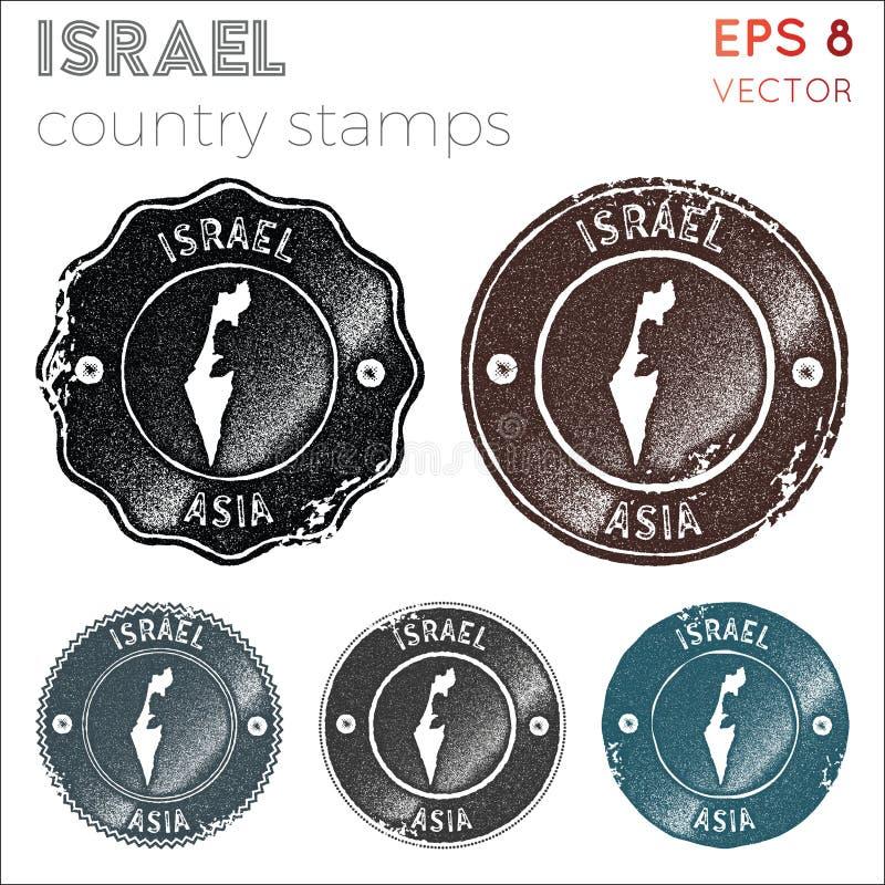 以色列集邮 向量例证